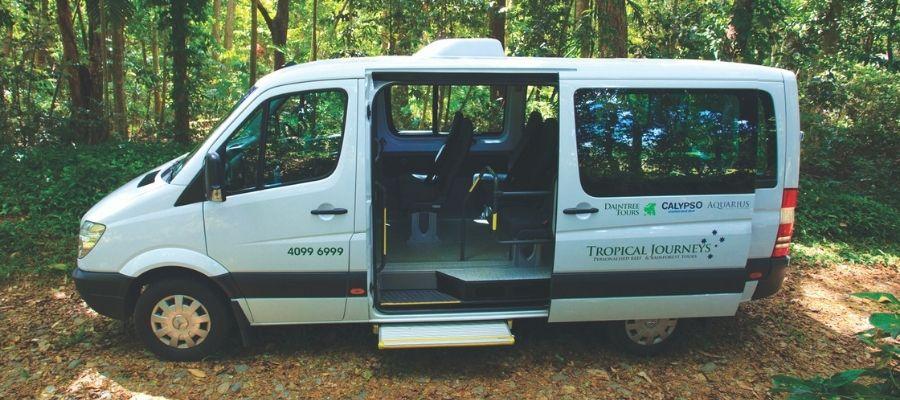 Daintree Tours Van